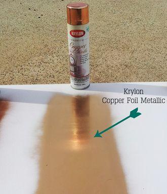 Аэрозольная краска с эффектом фольги Krylon Foil Metallic Gold