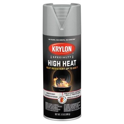 Аэрозольная высокотемпературная краска Krylon High Heat Aluminum 1407
