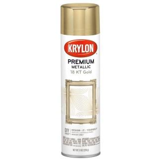 Krylon Premium Metallic 18 Kt Gold Plate K01000A07