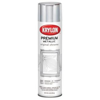 Krylon Premium Metallic Original Chrome 1010