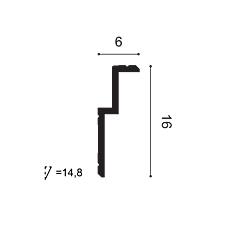 Карниз из полиуретана Orac Decor C391 STEPS