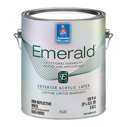 Sherwin-Williams Emerald Exterior Latex Flat фасадная краска