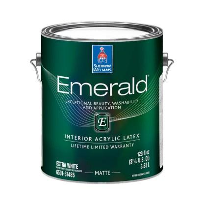Emerald Interior Acrylic Latex Paint Matte 1 Gallon