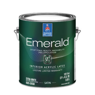Emerald Interior Acrylic Latex Paint Satin 1 Gallon