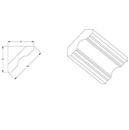 Карниз из полиуретана Orac Decor C215