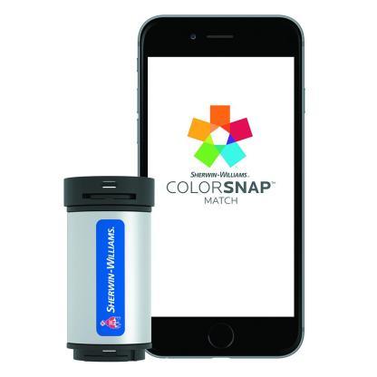 Sherwin-Williams ColorSnap Match tool