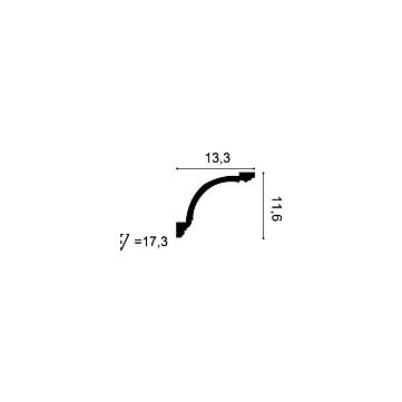 Карниз из полиуретана Orac Decor C216