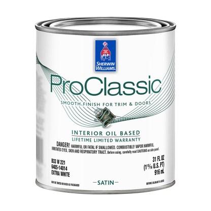 ProClassic Alkyd Interior Enamel Satin