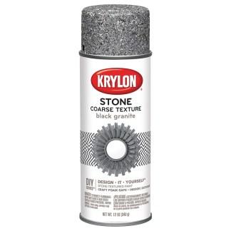 Krylon CoarseStone Black Granite 18201