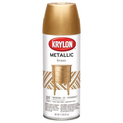 Krylon General Purpose Metallic Brass 2204