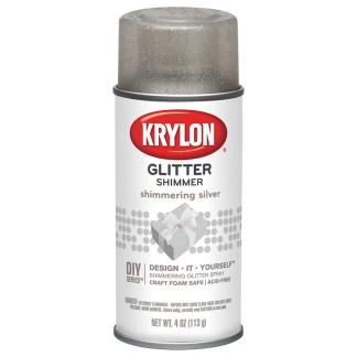 Krylon Glitter Shimmer Shimmering Silver 402