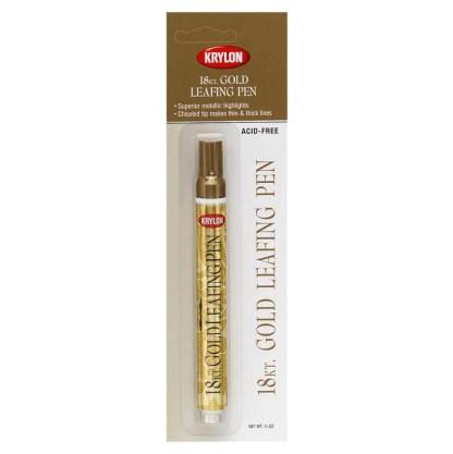 Krylon Leafing Pens 18kt Gold 9901
