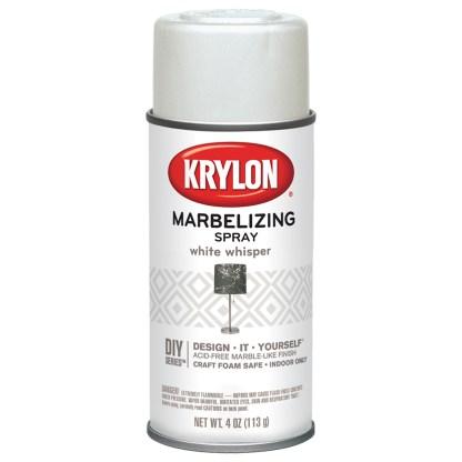 Krylon Marbelizing Spray White Whisper 602