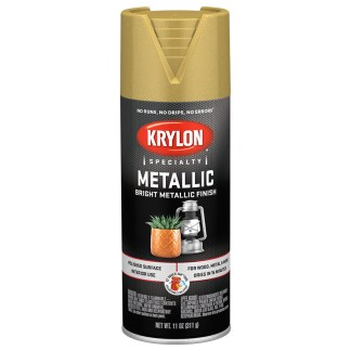 Krylon Metallic Paint Bright Gold 1701