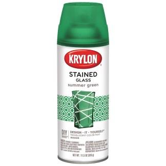 Krylon Stained Glass Summer Green 9028