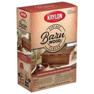 Krylon Vintage Finish Barn Wood K0843107 аэрозольная пропитка для дерева