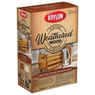 Krylon Vintage Finish Weathered Wood K0843007 аэрозольная пропитка для дерева