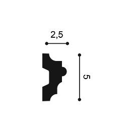 Молдинг из полиуретана Orac Decor P9040