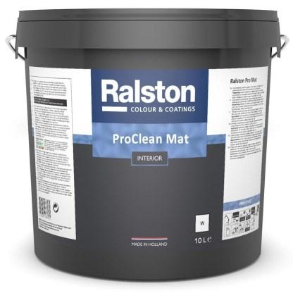 Ralston PRO CLEAN Mat матовая краска для стен