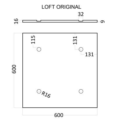 Artpole LOFT ORIGINAL гипсовые 3D панели