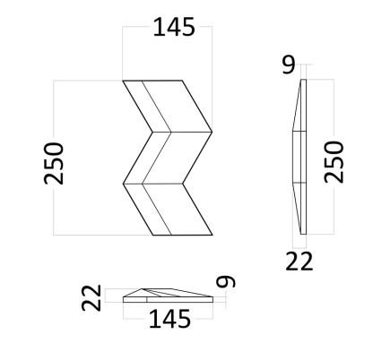 Artpole MERCURY гипсовые 3D панели