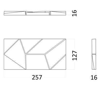 Artpole ORIGAMI гипсовые 3D панели