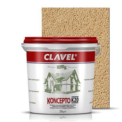 Clavel Koncepto K 20 Фасадная штукатурка