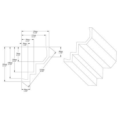 Карниз из полиуретана Orac Decor C300