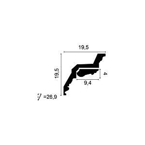 Кронштейн из полиуретана Orac Decor C307A