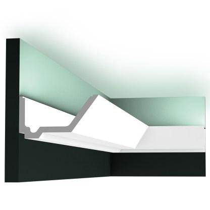 Карниз под скрытое освещение Orac Decor C358 RAIL
