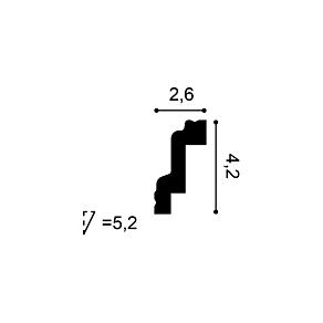 Карниз из дюрофоама Orac Decor CB531N
