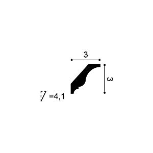 Карниз из дюрополимера Orac Decor CX154