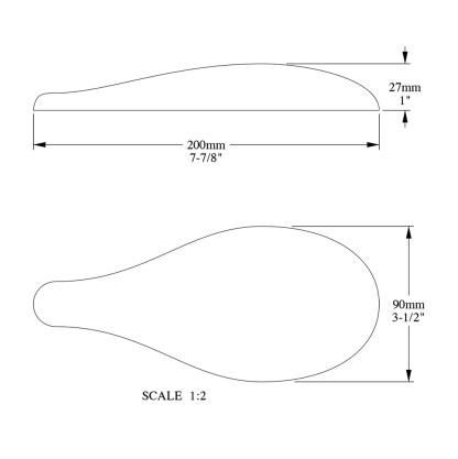 Декоративный элемент из дюрополимера Orac Decor G70 FOLIO