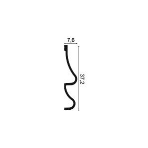 Молдинг из полиуретана Orac Decor P3071 GOLF
