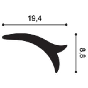 Декоративный элемент из дюрополимера Orac Decor G77 LILY