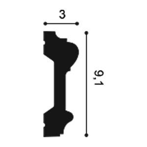 Молдинг из полиуретана Orac Decor P9010