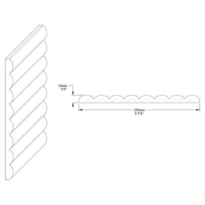 Декоративная панель из полиуретана Orac Decor W110 HILL
