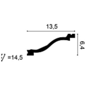 Карниз из полиуретана Orac Decor C331
