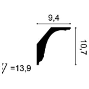 Карниз из полиуретана Orac Decor C402