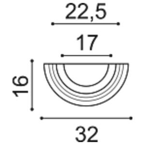 Полубаза колонны Orac Decor K1151