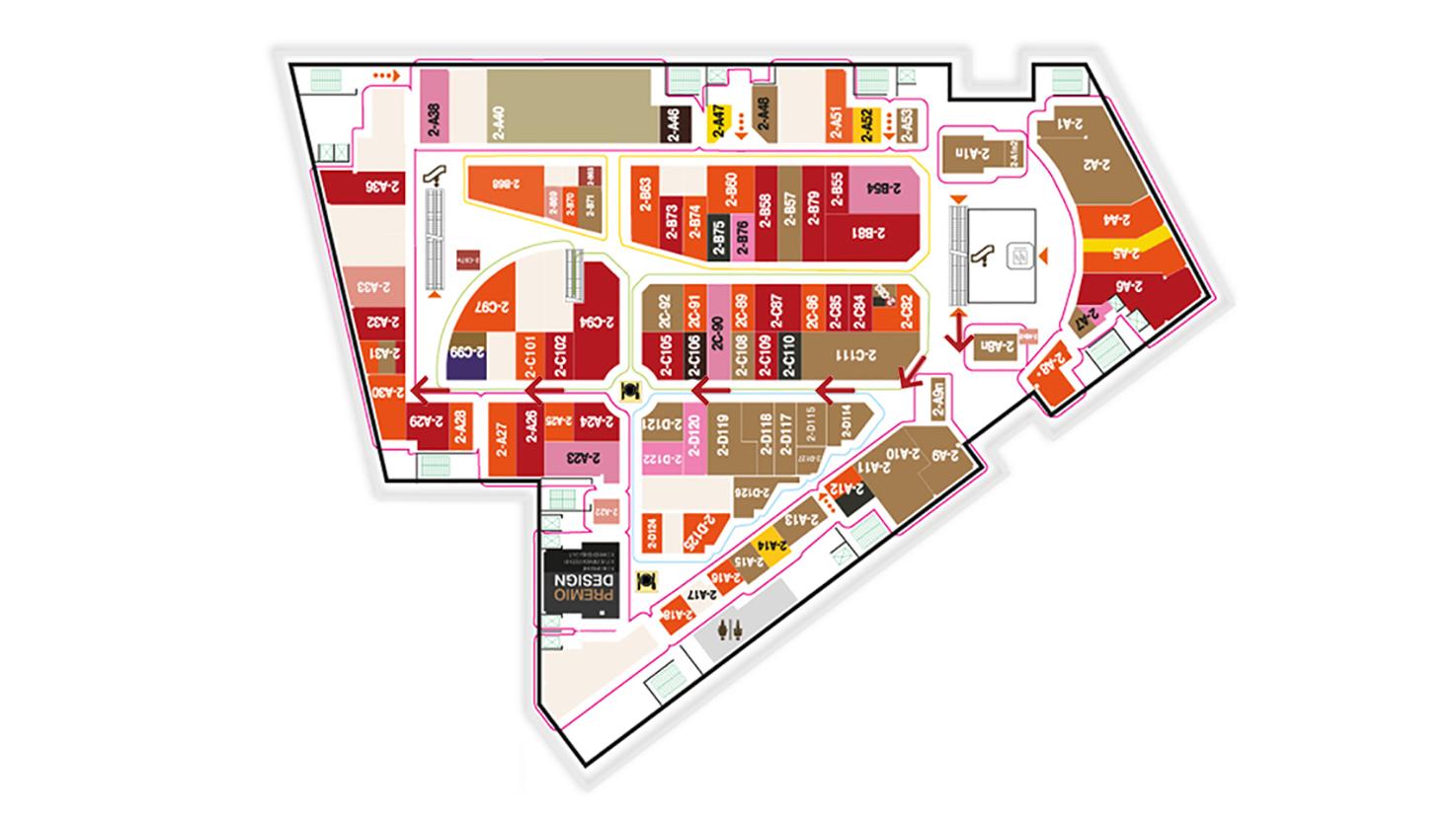 Каширский двор 2 этаж стенд 2A-30