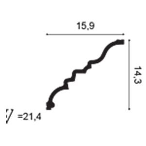 Карниз из полиуретана Orac Decor C327 MANOIR