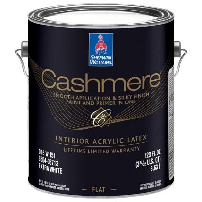 Sherwin-Williams Cashmere совершенно матовая краска для стен