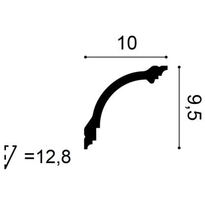 Карниз Orac Decor CB512 схема