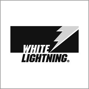 White Lightning logo