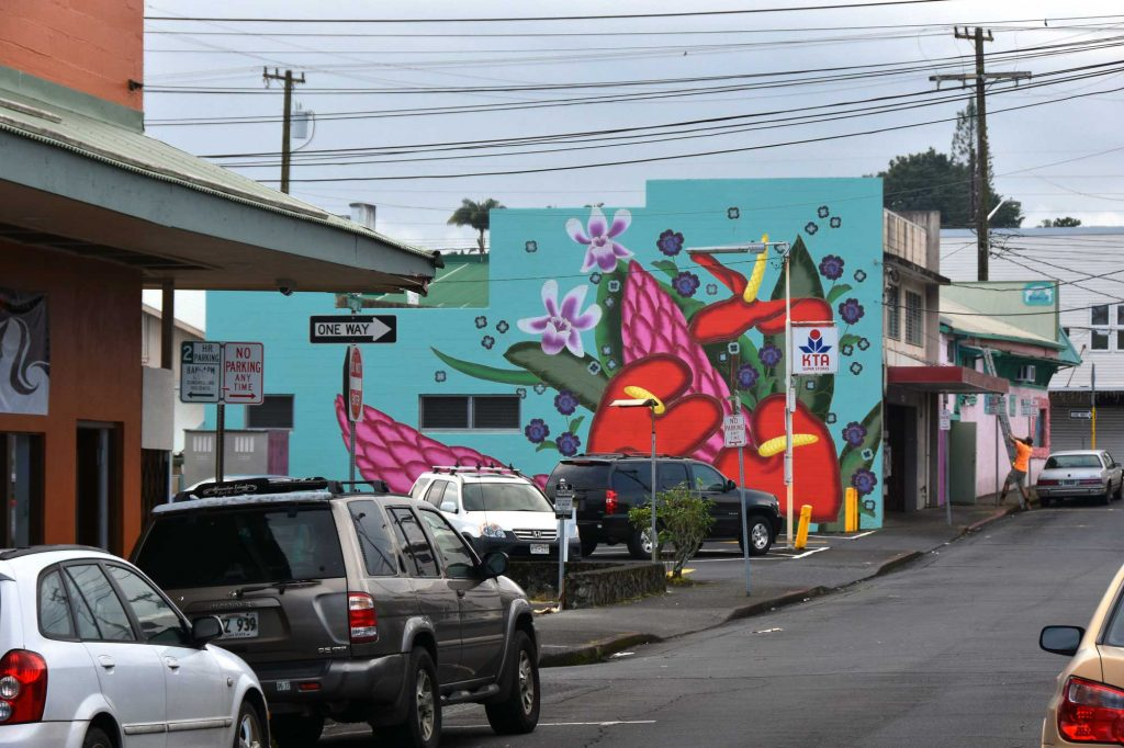 Hilo Big Island Hawaii street art