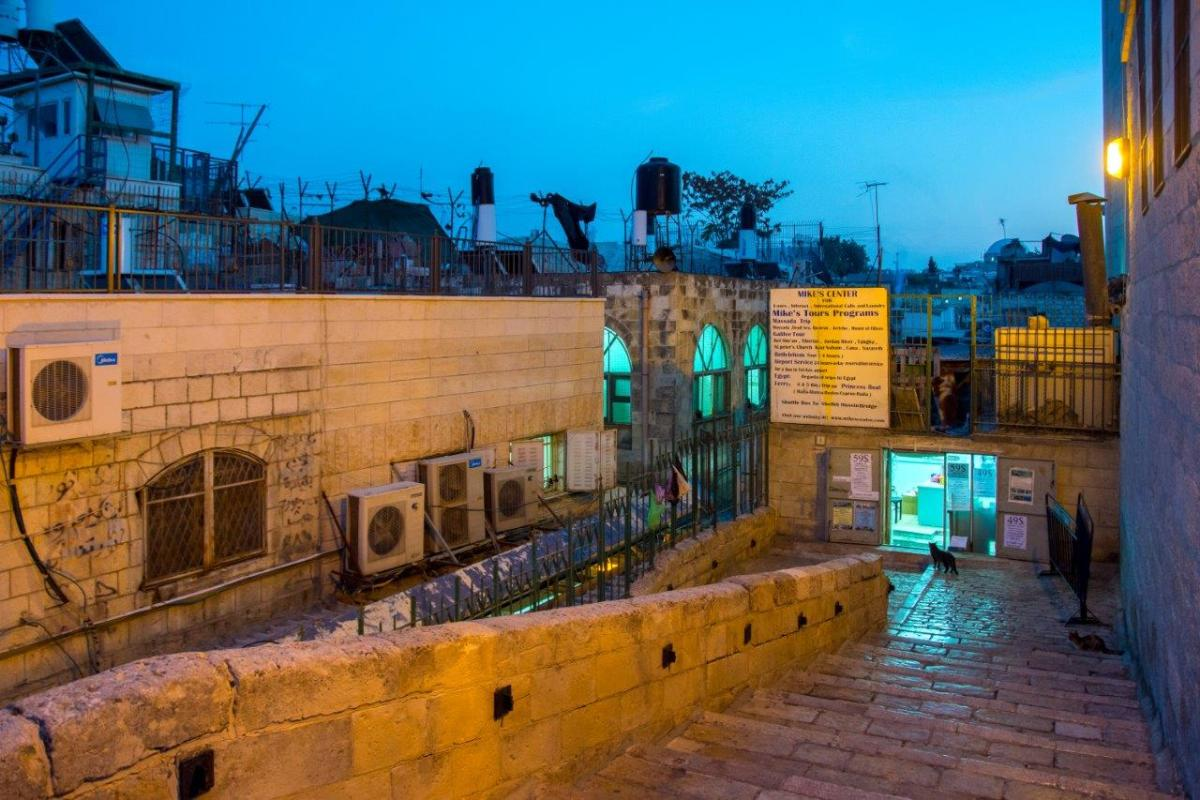 street view, old Jerusalem