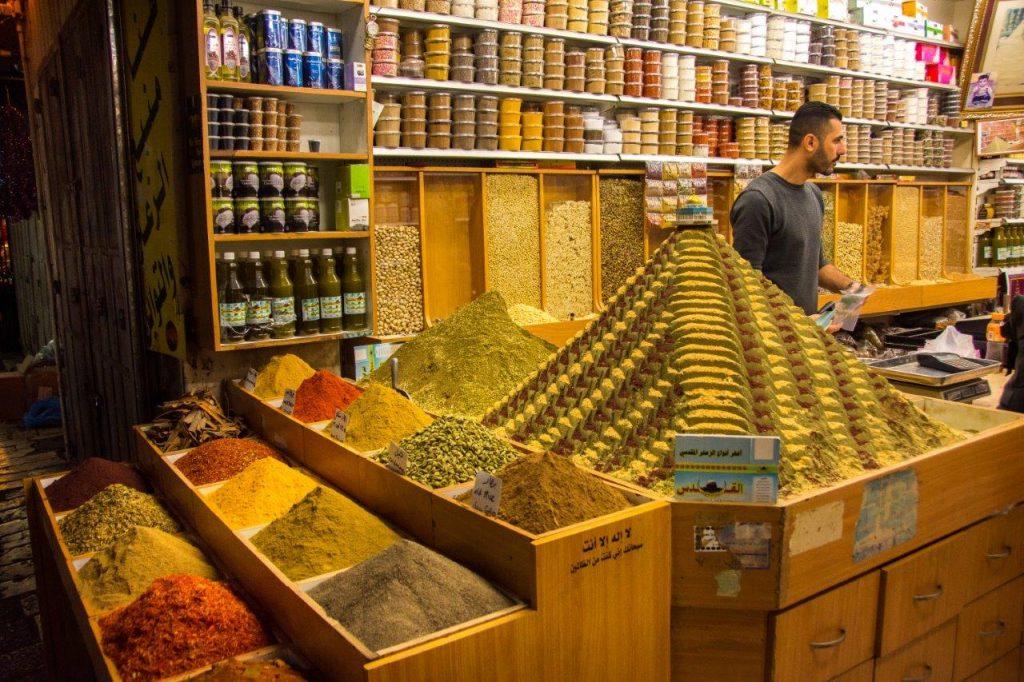 Jerusalem souk spices