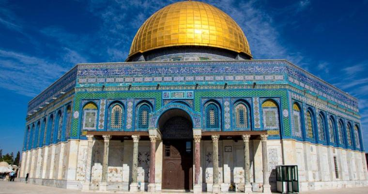 A beautiful Morning on Temple Mount