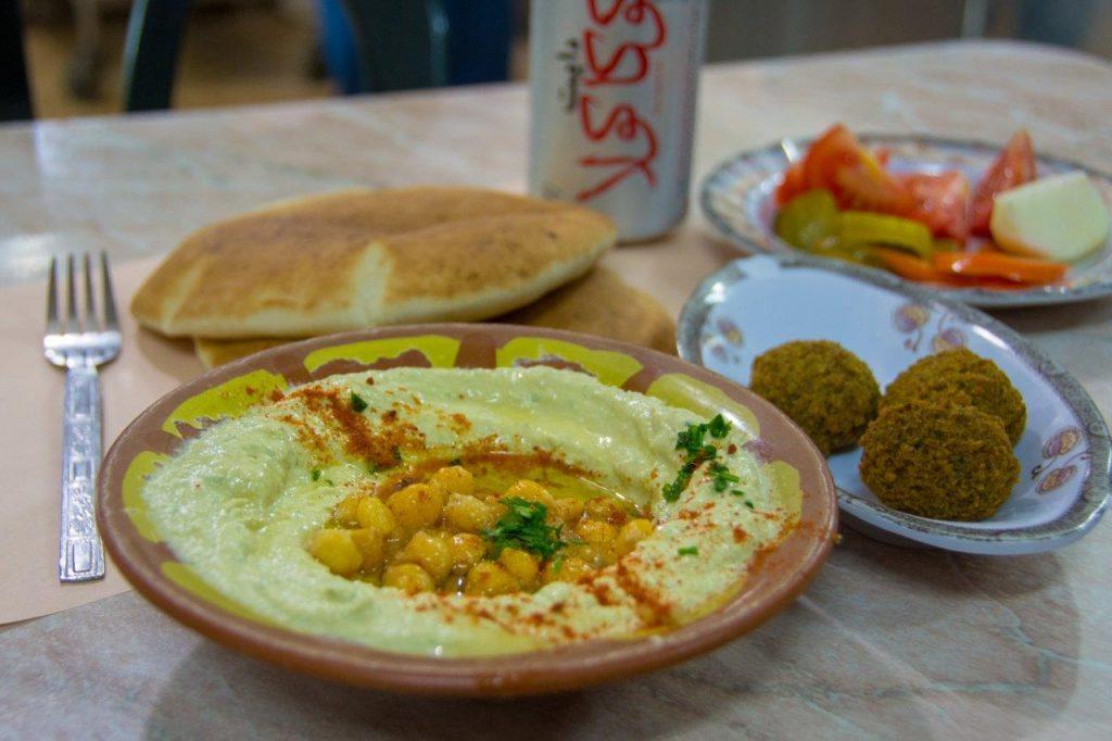 Lunch at Abu Shukri